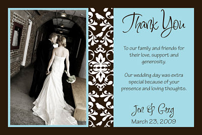 Thank you notes 101 in all though your wedding thank junglespirit Choice Image
